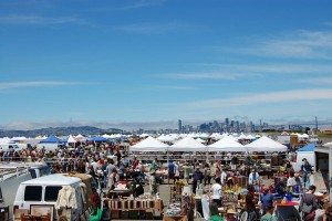 Giant flea market on Alameda Naval Base (photo from web)